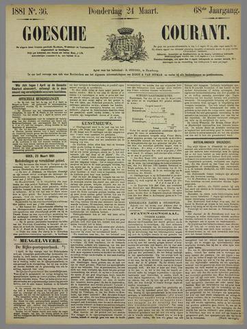 Goessche Courant 1881-03-24