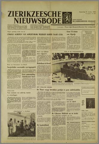 Zierikzeesche Nieuwsbode 1962-10-25