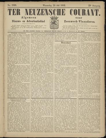 Ter Neuzensche Courant. Algemeen Nieuws- en Advertentieblad voor Zeeuwsch-Vlaanderen / Neuzensche Courant ... (idem) / (Algemeen) nieuws en advertentieblad voor Zeeuwsch-Vlaanderen 1883-07-25