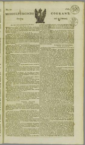 Middelburgsche Courant 1825-02-19