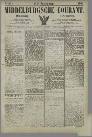 Middelburgsche Courant 1884-11-06