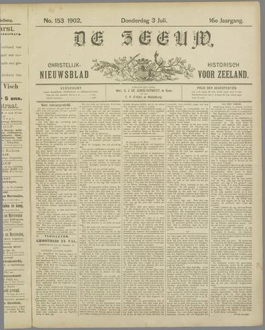 De Zeeuw. Christelijk-historisch nieuwsblad voor Zeeland 1902-07-03