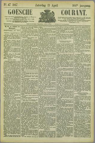 Goessche Courant 1917-04-21
