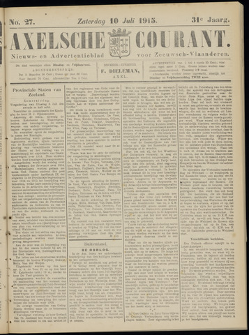 Axelsche Courant 1915-07-10