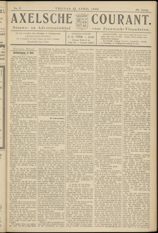 Axelsche Courant 1933-04-21
