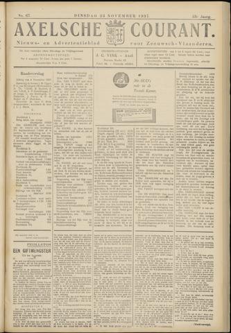 Axelsche Courant 1937-11-23