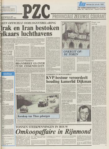Provinciale Zeeuwse Courant 1980-09-23