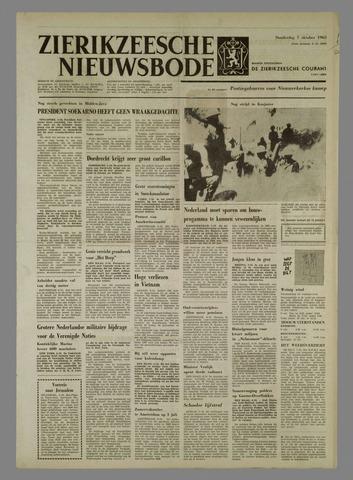 Zierikzeesche Nieuwsbode 1965-10-07