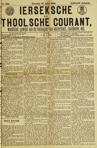 Ierseksche en Thoolsche Courant 1901-04-13