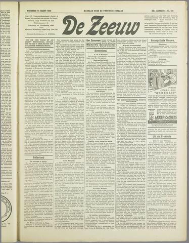 De Zeeuw. Christelijk-historisch nieuwsblad voor Zeeland 1934-03-14