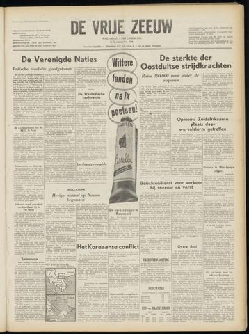 de Vrije Zeeuw 1952-12-03