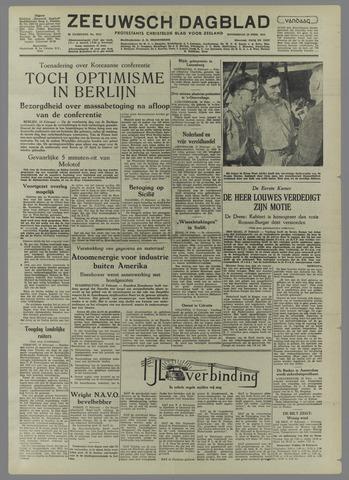 Zeeuwsch Dagblad 1954-02-18