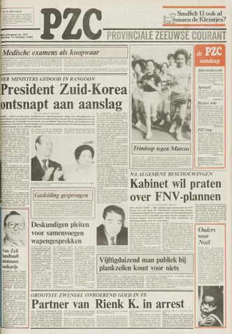 Provinciale Zeeuwse Courant 1983-10-10