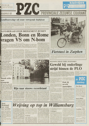 Provinciale Zeeuwse Courant 1983-05-30