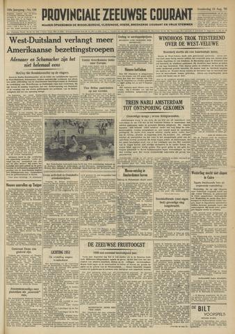 Provinciale Zeeuwse Courant 1950-08-24