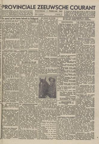 Provinciale Zeeuwse Courant 1943-02-03