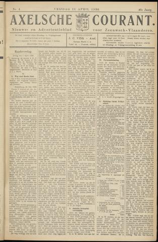 Axelsche Courant 1930-04-11