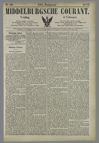 Middelburgsche Courant 1887-02-04