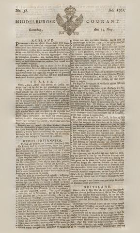 Middelburgsche Courant 1762-05-15