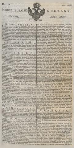 Middelburgsche Courant 1776-10-26