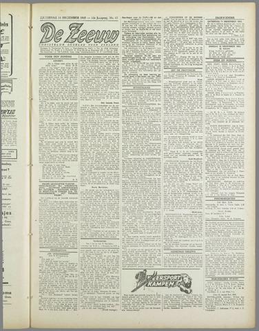 De Zeeuw. Christelijk-historisch nieuwsblad voor Zeeland 1943-12-11