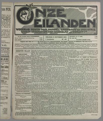 Onze Eilanden 1919-10-03