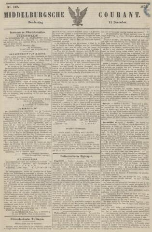 Middelburgsche Courant 1851-12-11
