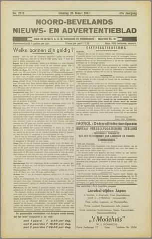 Noord-Bevelands Nieuws- en advertentieblad 1941-03-25
