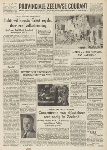 Provinciale Zeeuwse Courant 1953-09-15