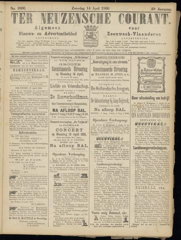 Ter Neuzensche Courant. Algemeen Nieuws- en Advertentieblad voor Zeeuwsch-Vlaanderen / Neuzensche Courant ... (idem) / (Algemeen) nieuws en advertentieblad voor Zeeuwsch-Vlaanderen 1900-04-14