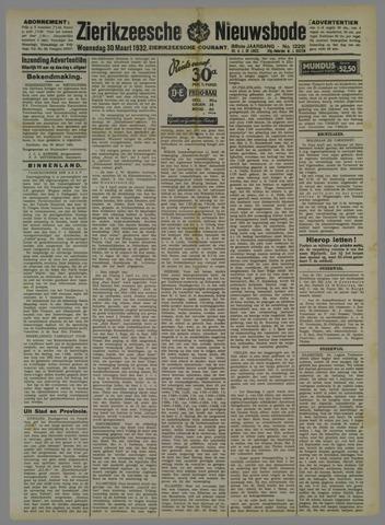 Zierikzeesche Nieuwsbode 1932-03-30