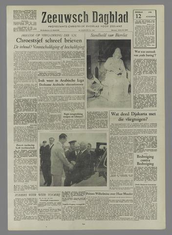 Zeeuwsch Dagblad 1958-08-12