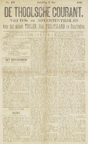 Ierseksche en Thoolsche Courant 1885-05-02