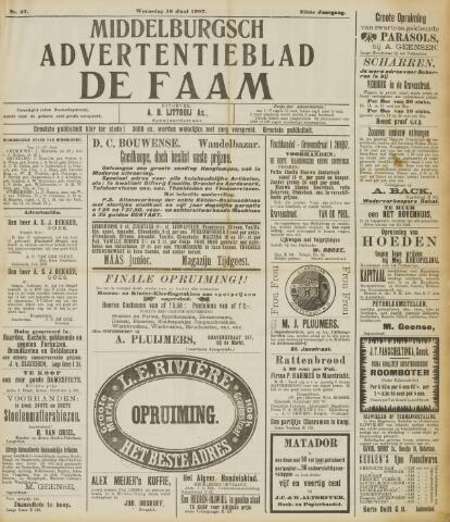 de Faam en de Faam/de Vlissinger 1907-06-19