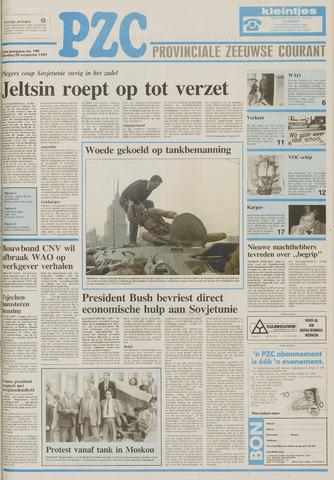Provinciale Zeeuwse Courant 1991-08-20