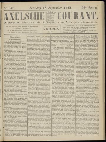 Axelsche Courant 1915-09-18