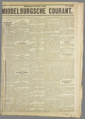 Middelburgsche Courant 1928