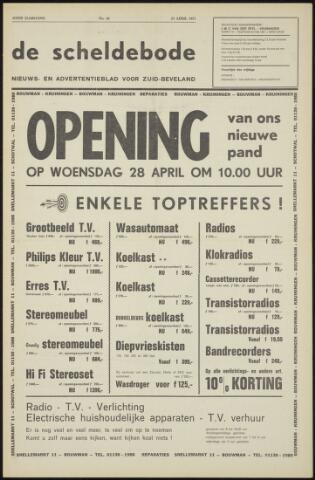 Scheldebode 1971-04-23