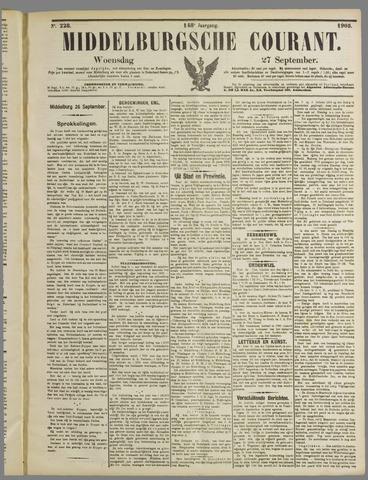 Middelburgsche Courant 1905-09-27