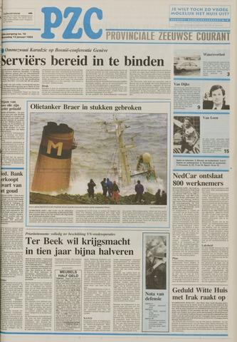 Provinciale Zeeuwse Courant 1993-01-13