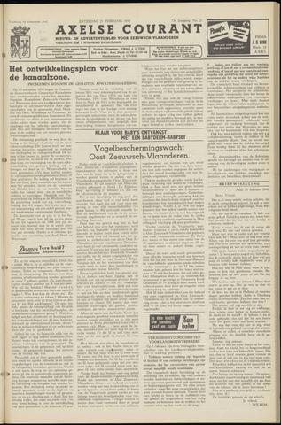 Axelsche Courant 1959-02-21
