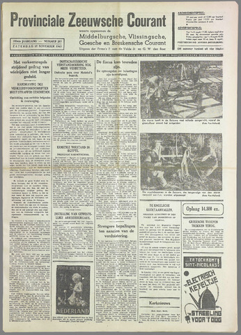 Provinciale Zeeuwse Courant 1940-11-16