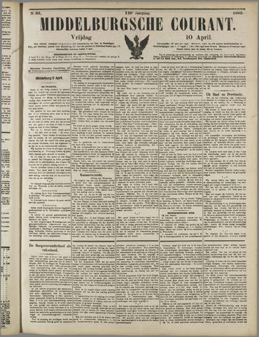 Middelburgsche Courant 1903-04-10