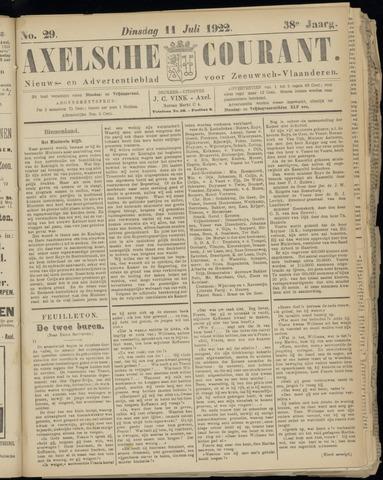 Axelsche Courant 1922-07-11
