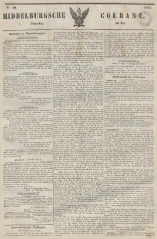 Middelburgsche Courant 1851-05-20
