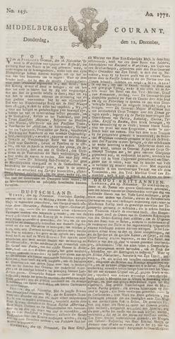 Middelburgsche Courant 1771-12-12