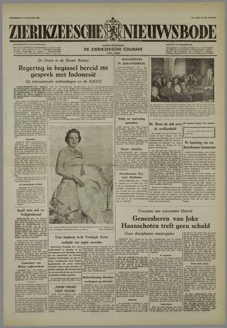 Zierikzeesche Nieuwsbode 1958-01-30