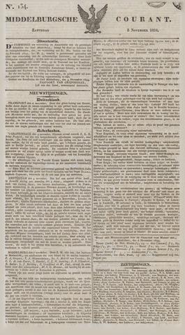 Middelburgsche Courant 1834-11-08