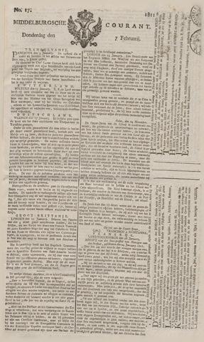 Middelburgsche Courant 1811-02-07