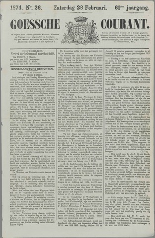 Goessche Courant 1874-02-28